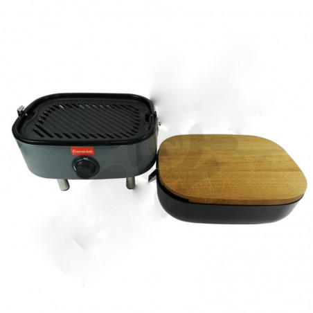 Mini BBQ (Γκρί) Coral Gas