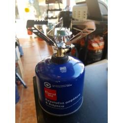 ΚΑΜΙΝΕΤΟ CORAL GAS ΑΣΦΑΛΕΙΑΣ ΒΙΔΩΤΟ (2+1)